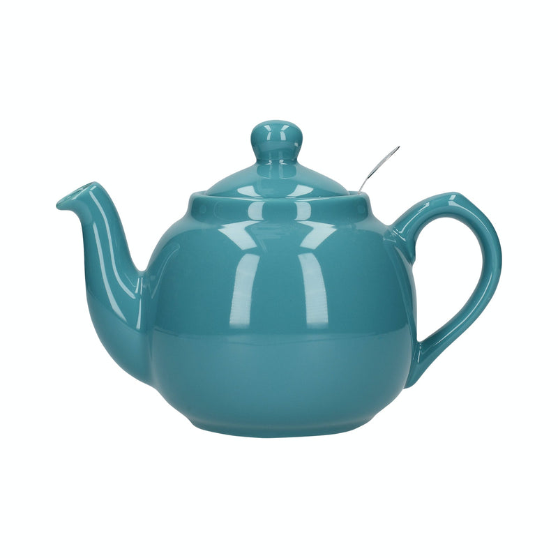 London Pottery Farmhouse Teapot Aqua