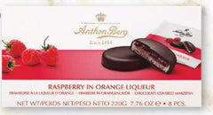 Anthon Berg Raspberry in Orange Chocolate Covered Marzipan - 220g