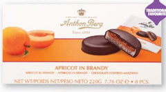 Anthon Berg Apricot in Brandy Chocolate Covered Marzipan - 220g