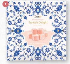Truede Sugar Free Rose Turkish Delight - 110g