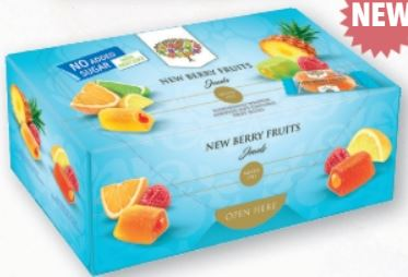 New Berry Fruits, Jewels - No Added Sugar - 300g