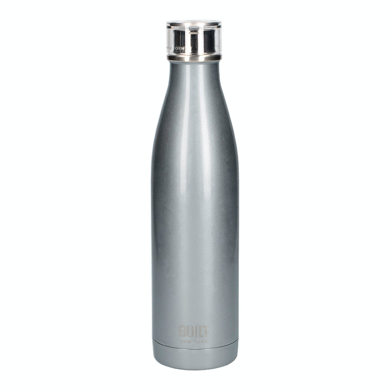 Sliver Built 500ml Double Walled Stainless Steel Water Bottle