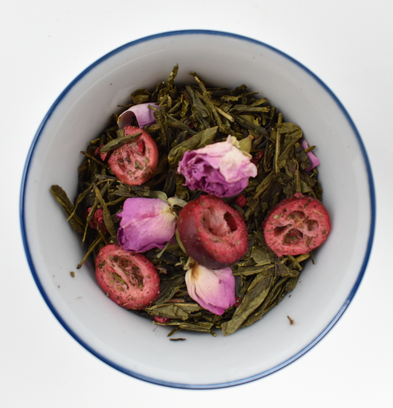 Sencha Cranberry & Rose