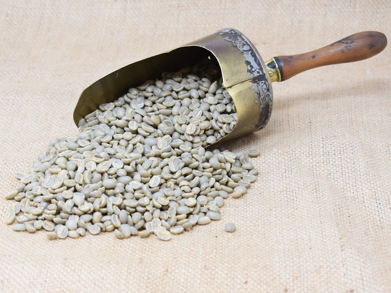 Unroasted Kenya Peaberry
