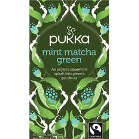 Matcha Green Mint Tea