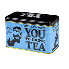 England Needs You! Tin, 40 English Afternoon Teabags
