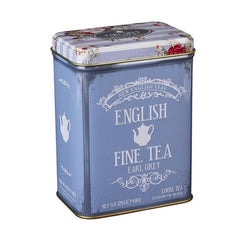 Floral Tea Tin, Earl Grey Loose Leaf