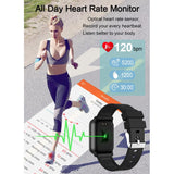 Smart fitness watch waterdicht