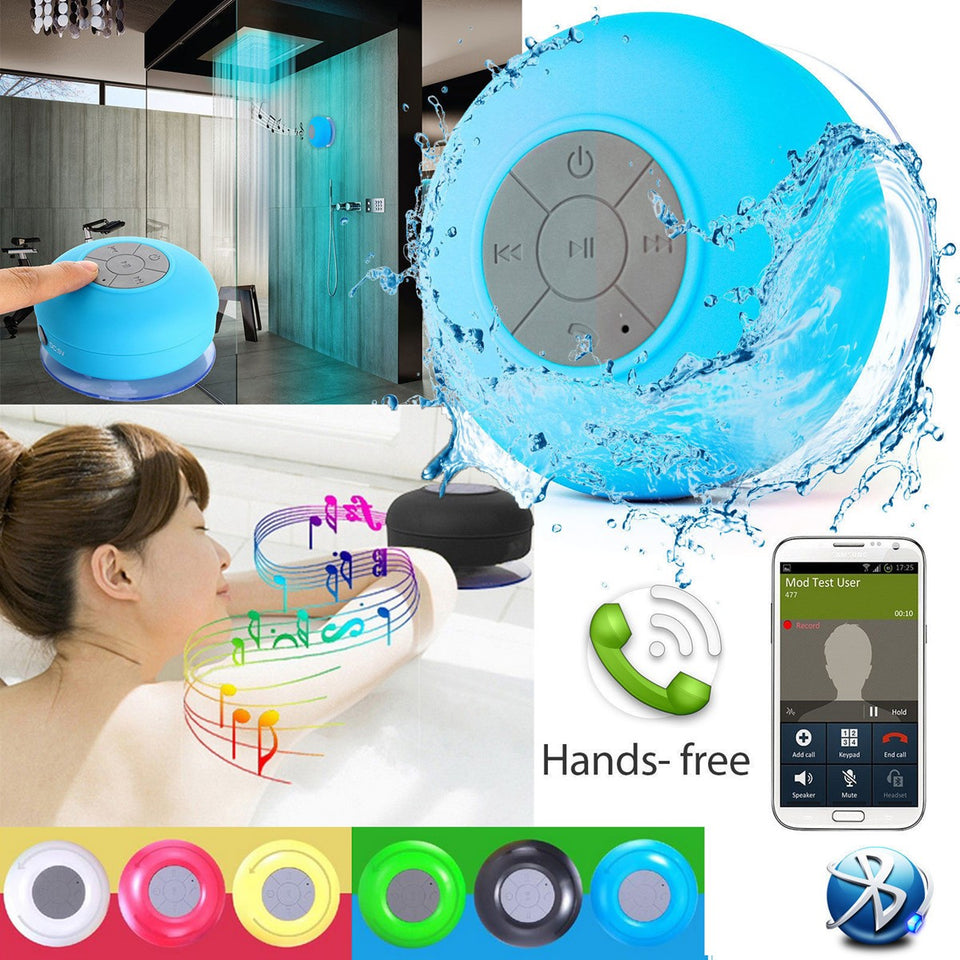 Mini waterdichte Wireless Bluetooth Speaker Douche/Bad Mp3 Speaker/Radio - Waterproof