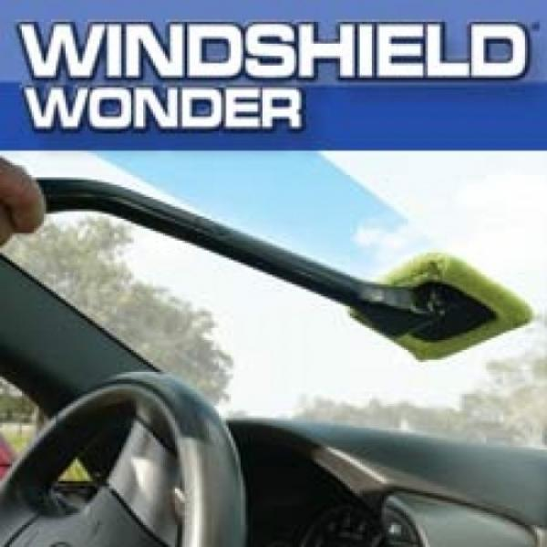 Windshield Wonder Microfiber Long Handled Cleaning Tool