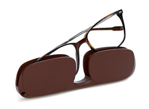 Ultra-thin lightweight frame reading glasses