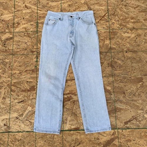 80s 90s Lee Light Wash Denim Jeans | 32