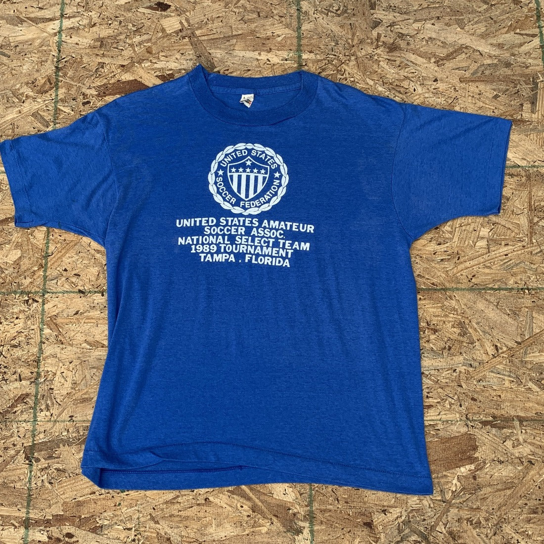 untited states amateur soccer assoc national select team 1989 Tournament Tampa Florida