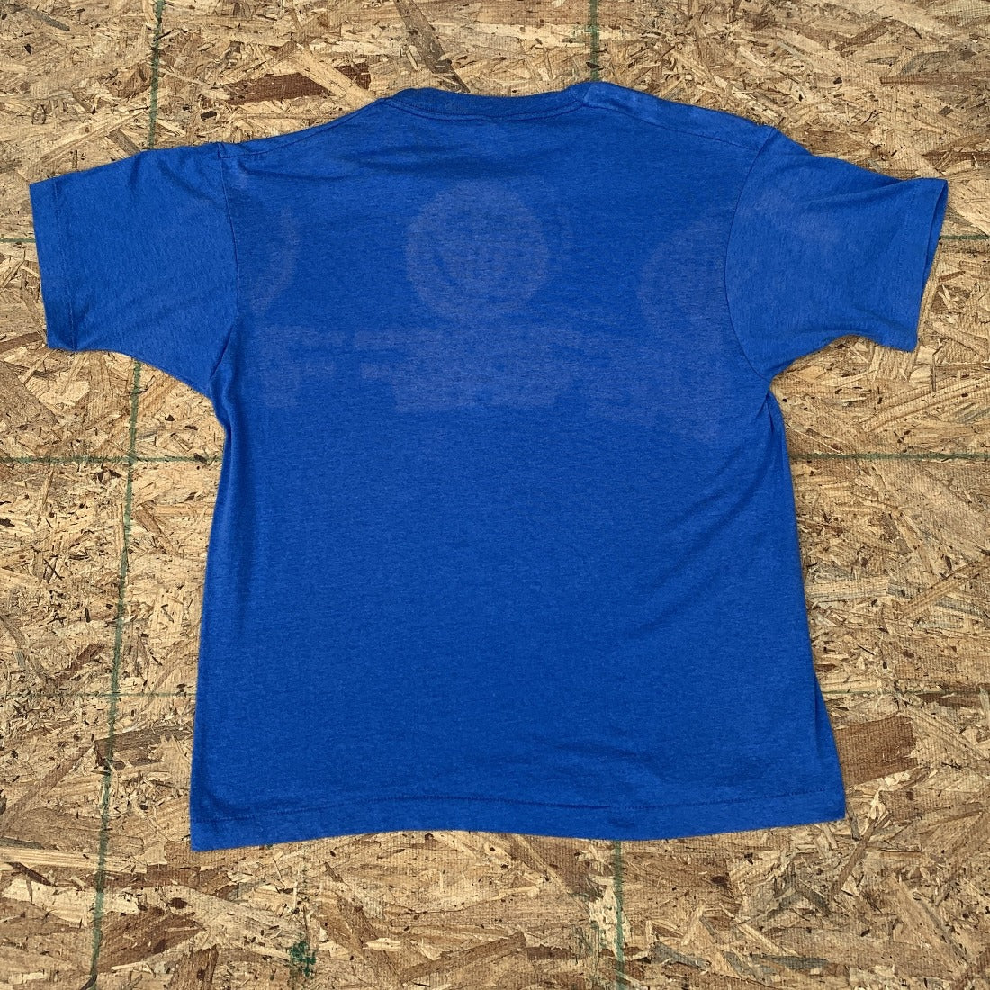 Amateur Soccer Association Blue 50/50 Tshirt | M L Vintage