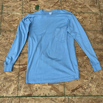 Towncraft Long Sleeve Pocket Tee | M