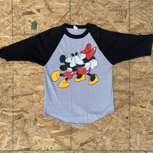 Mickey & Minnie Raglan Tee | M