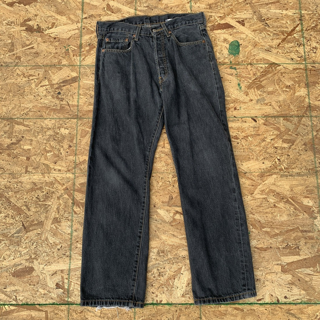 Levi's 501 Black Denim Jeans | 32