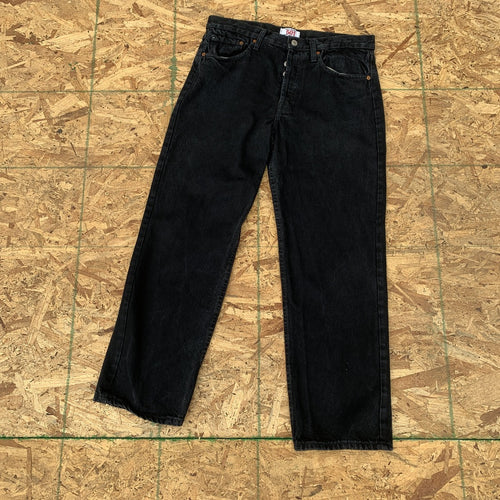 Vintage Levi's 501 Black Denim Jeans | 34