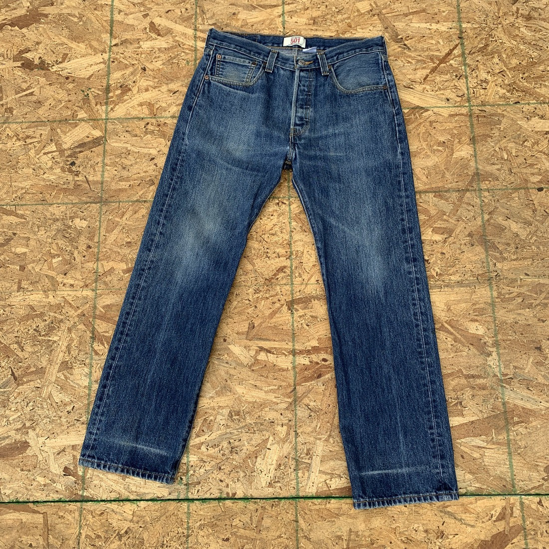 90s Levi's 501 Vintage Wash Pants Denim Jeans | 32 x 29