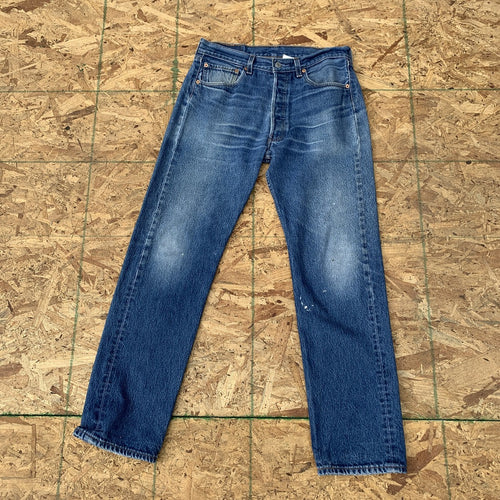 Levi's 501xx Vintage Faded Denim Jeans  | 32