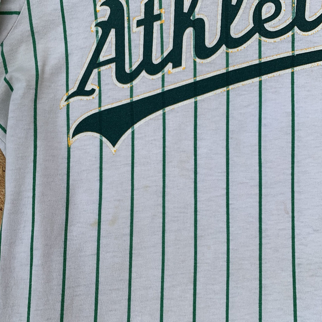 Athletics Ringer Tee | M
