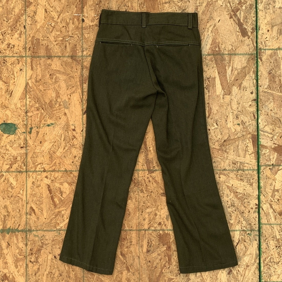 70s Green Trousers