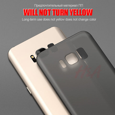 0 3mm Ultra Thin Matte Phone Cases For Samsung Galaxy S9 S8 Plus