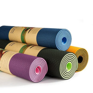 1830*610*6MM Yoga Mat Double Sided