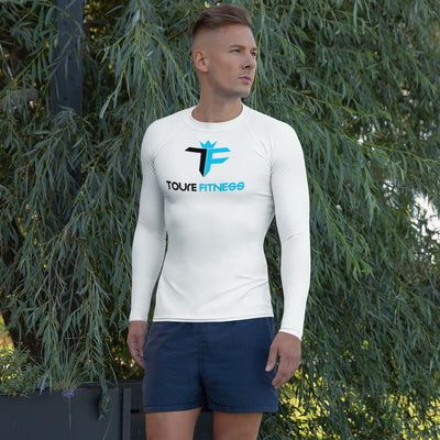 Toure Fitness Men's Dry Fit Long Sleeve Training Shirt