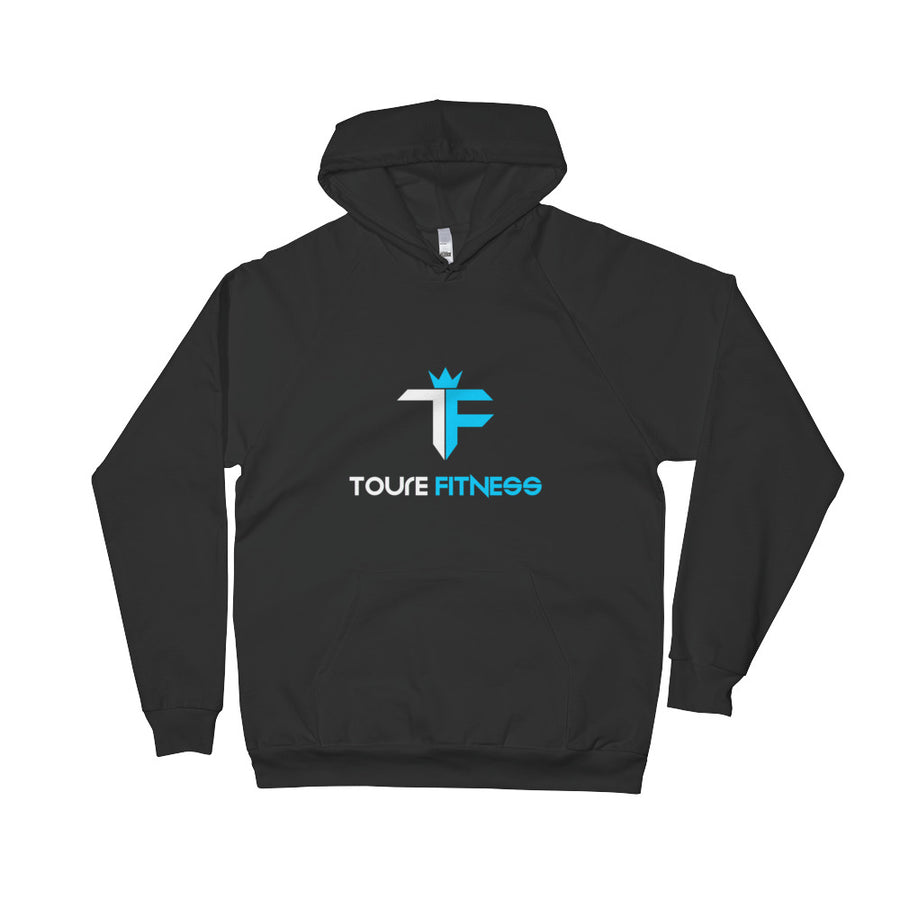 Toure Fitness Black Fleece Hoodie - ToureFitness