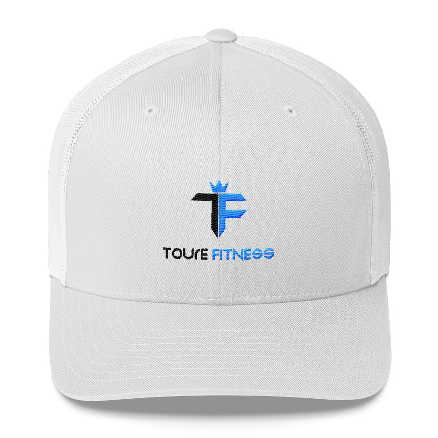 Toure Fitness White Cap