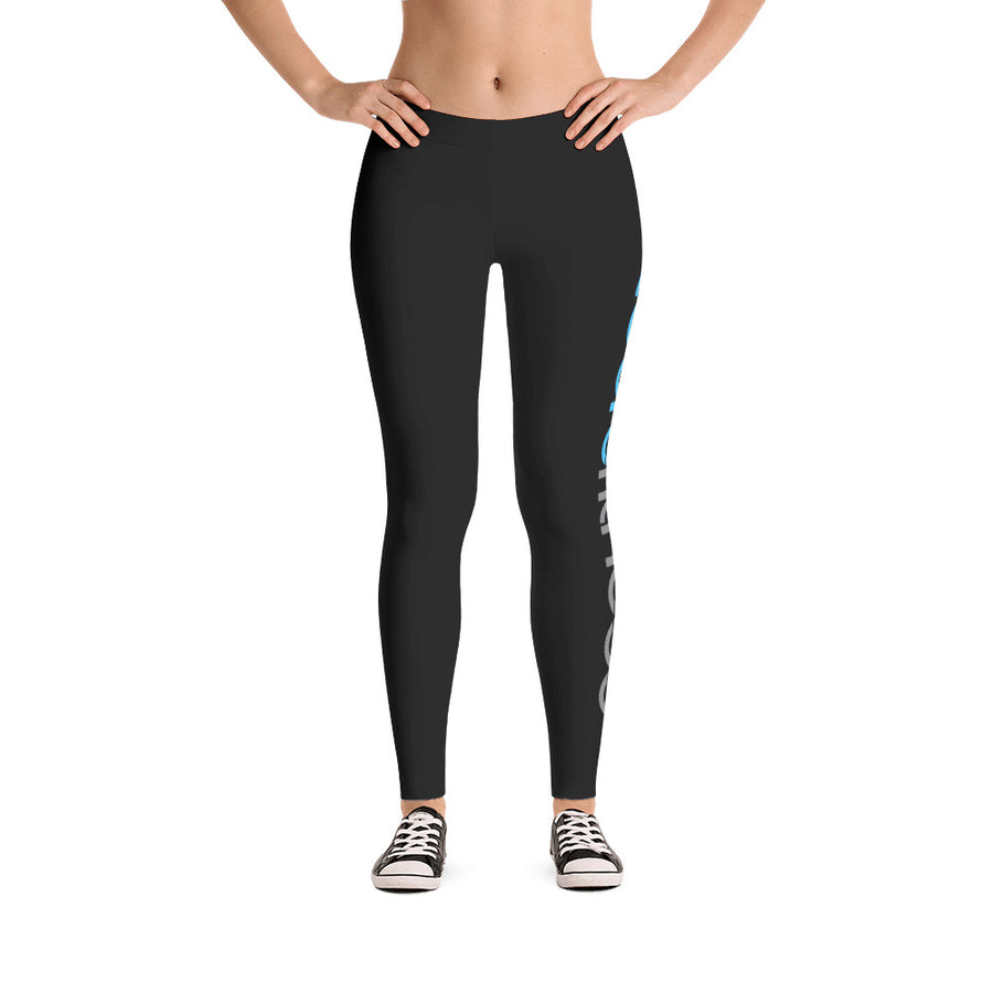 Toure Fitness Side-Print Leggings