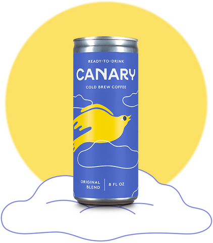 Canary Cold Brew $1 Sample Can