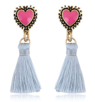 "Heart Eyes ""Tassels"""