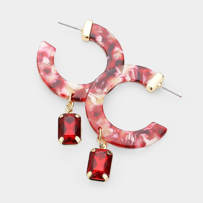 "Ruby & Gold ""Dangles"""