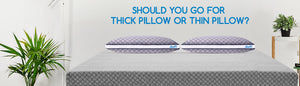 Should You Go for Thick Pillow or Thin Pillow?