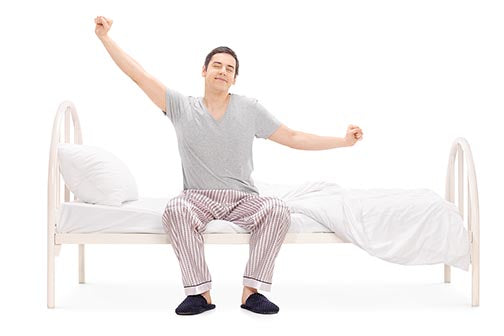 Wake up Guy on Durfi Mattress