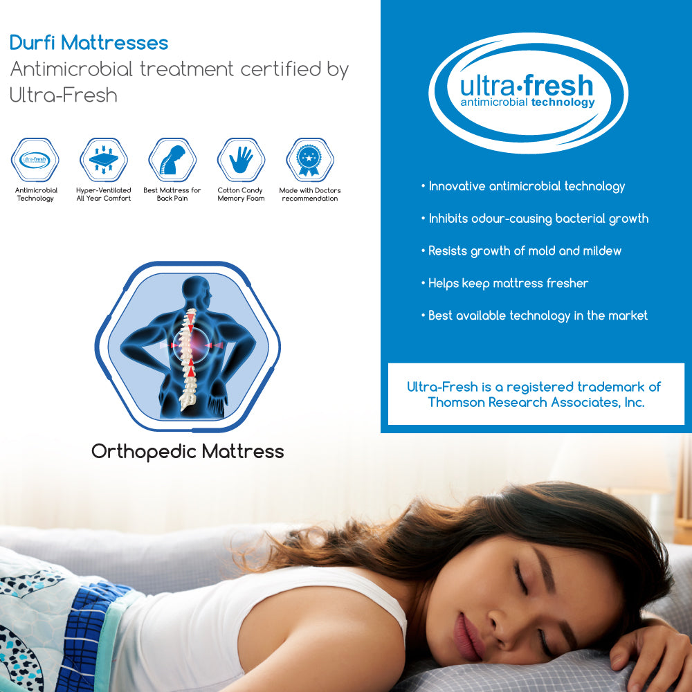 Durfi Original Memory Foam Orthopedic Mattress