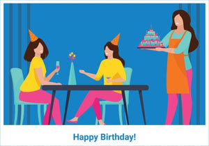 Durfi Happy Birthday Gift Card