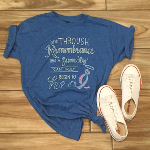 Blue Remembrance T-shirt (XL)
