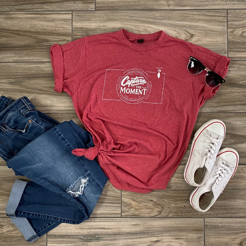 Capture the Moment - Women's Fitted T-shirt