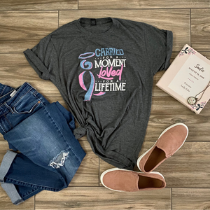 Carried for a Moment - Adult ($15) & Youth ($10) T-shirts