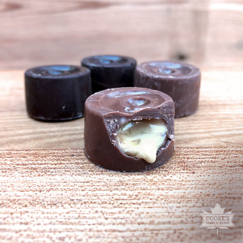 Cooke's Maple Farm Maple Creams chocolates made in Maine.