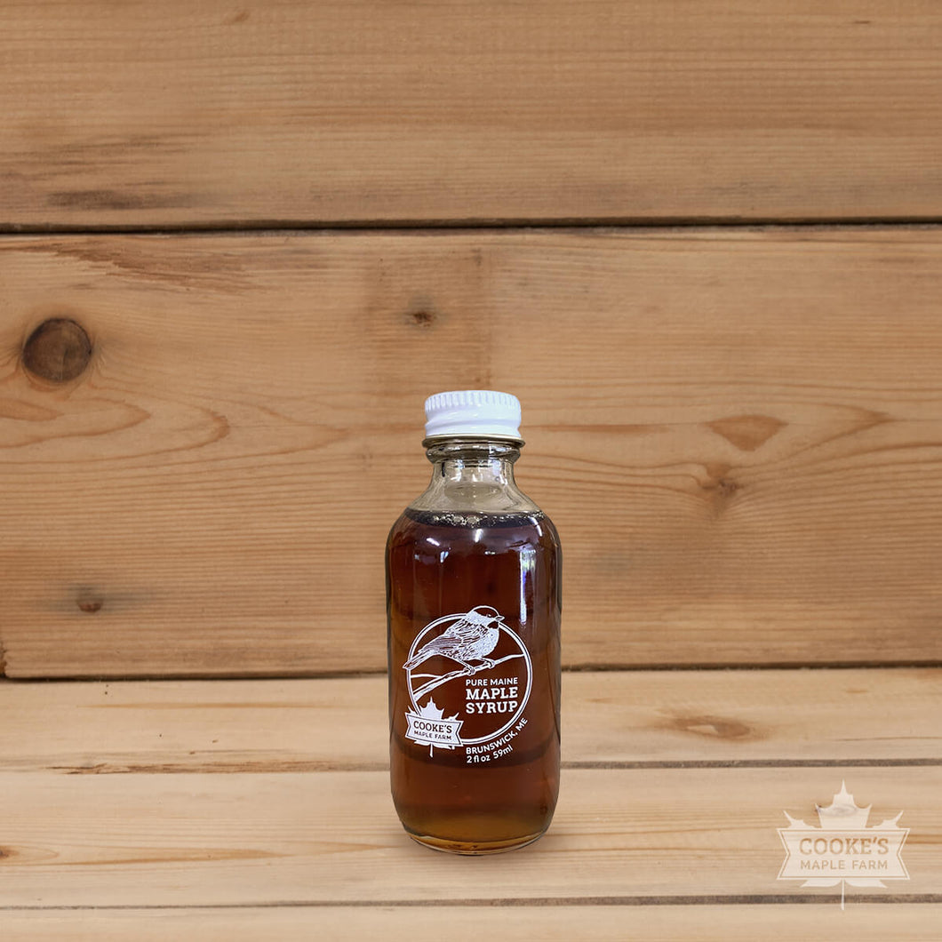 Cooke's Maple Farm Maine Maple Syrup 2oz Glass Bottle