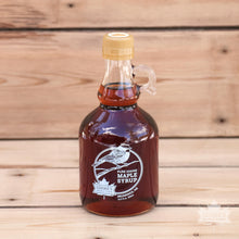 Load image into Gallery viewer, Maine maple syrup from Cooke's Maple Farm in Brunswick, ME. 16.9oz glass jug