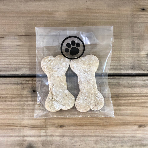 Maple Dog Biscuits - 2 Large Bones