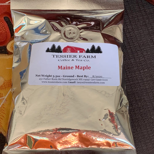 Large Maine Maple Coffee - 3.5oz Bag