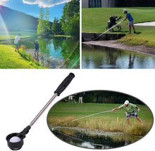 Load image into Gallery viewer, Retractable Golf Ball Picker Stainless Golf Ball Retriever for Water - fingertensport