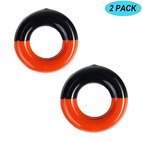 Golf Swing Ring Weighted Club Warm Up Swing Round Weight Value 2 Pack - fingertensport