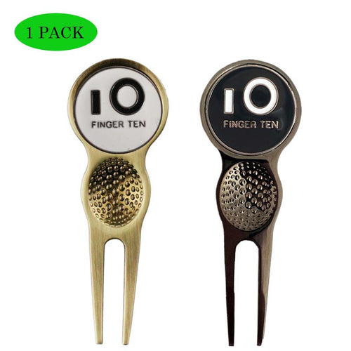 Golf Divot Tools Repair with Ball Marker1Pack - fingertensport